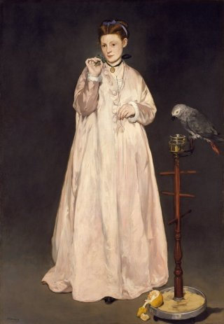 Reprodukcja Young Lady in 1866, Edouard Manet