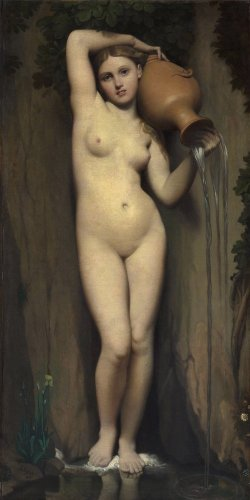 Reprodukcja The Spring, Jean Auguste Dominique Ingres